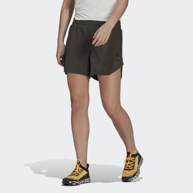 Short Agravic All-Around Parley Vert Femmes City Outdoor
