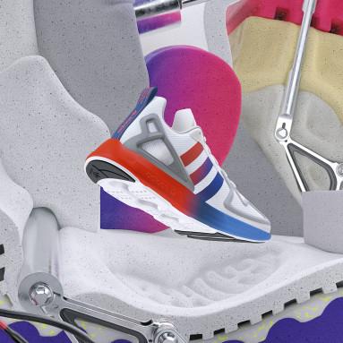 Sapatos ZX 2K Flux Branco Originals