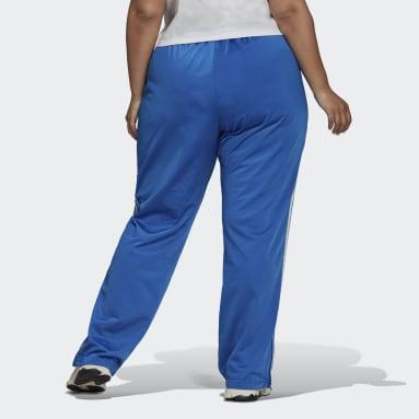 Women Originals Blue Adicolor Classics Firebird Primeblue Tracksuit Bottoms (Plus Size)
