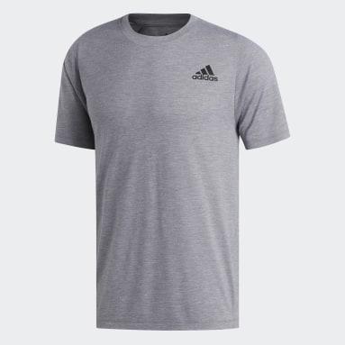 Men Gym & Training Grey FreeLift Sport Prime Heather T-Shirt