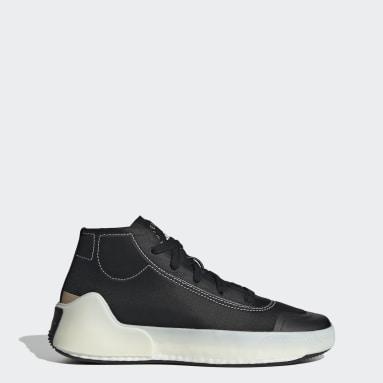 ผู้หญิง adidas by Stella McCartney สีดำ รองเท้าทรงมิดคัท adidas by Stella McCartney Treino
