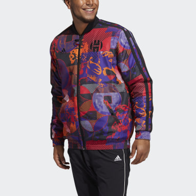Men's Basketball Multicolor Harden Jacket