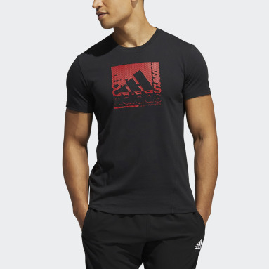 Men Gym & Training Black Primeblue Training T-Shirt