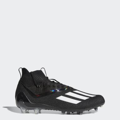 Men's Football Black Adizero 11.0 Primeknit Football Cleats