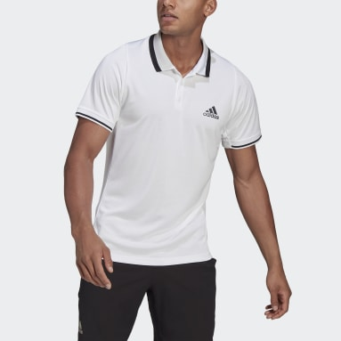 Polo Tennis Freelift Blanco Hombre Tenis