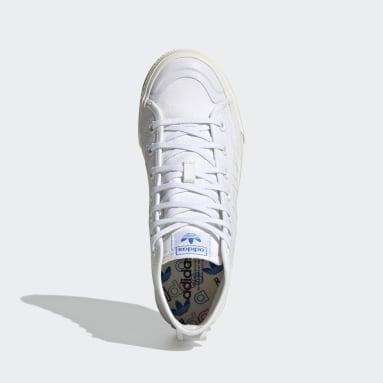 Women's Originals White Nizza Hi RF Shoes
