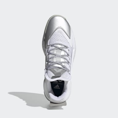 Chaussure Pro Boost Mid Blanc Basketball