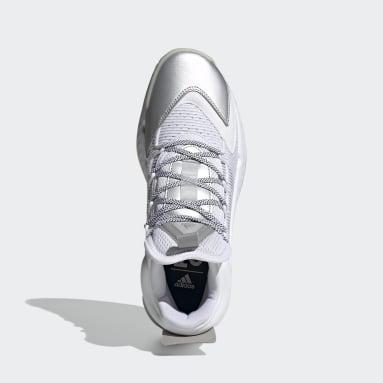 Basketbal Wit Pro Boost Mid Schoenen