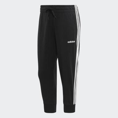 Pantalon 3/4 Essentials 3-Stripes Noir Femmes Sportswear