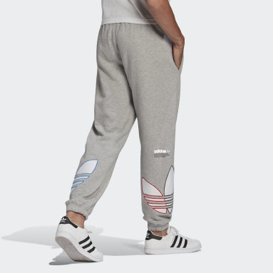Men Originals Grey Adicolor Sweat Pants