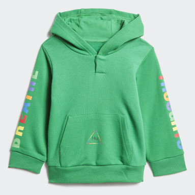 Infant & Toddler Originals Green Pharrell Williams Hooded Track Suit