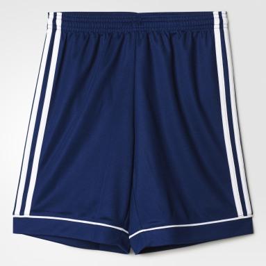 Shorts Squadra 17 Azul Meninos Futebol