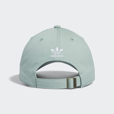 Men's Originals Green Relaxed Strap-Back Hat
