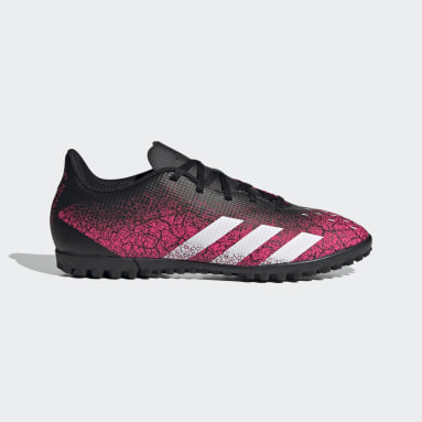 Men Soccer Pink Predator Freak.4 Turf Shoes