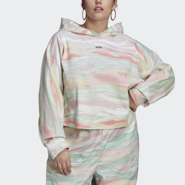 Women Originals Multicolour R.Y.V. Crop Hoodie