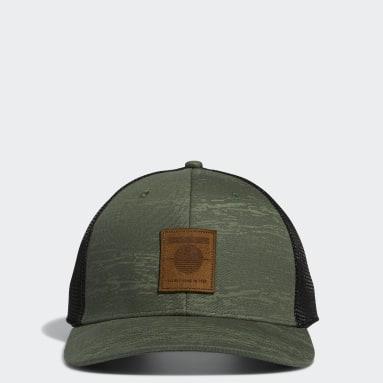 Men Golf Green SD Golf Trucker Hat
