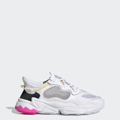 Women Originals White OZWEEGO Lite Shoes