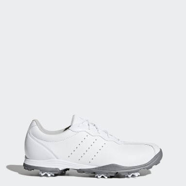 Women Golf White Adipure DC Shoes