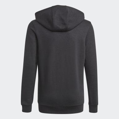 Sweat-shirt à capuche adidas Essentials Noir Garçons Sportswear