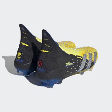 Fodbold Gul Marvel Predator Freak+ Firm Ground støvler