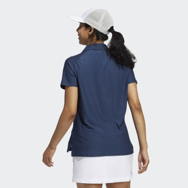 Dames Golf Blauw Go-To Primegreen Poloshirt