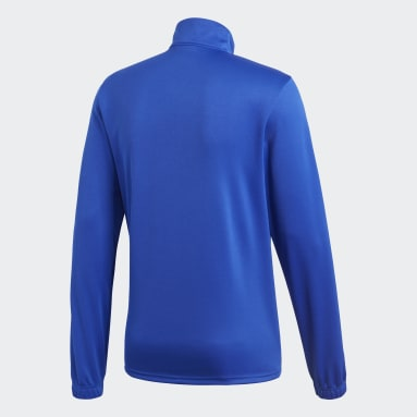 Men Gym & Training Blue Core 18 Training Top