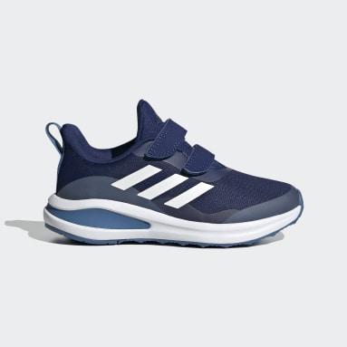 Kinderen Hardlopen Blauw FortaRun Double Strap Hardloopschoenen
