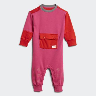 Infants Training Burgundy adidas x LEGO® DUPLO® Onesie