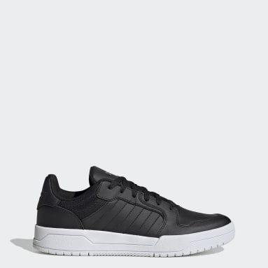 Walking Black Entrap Shoes