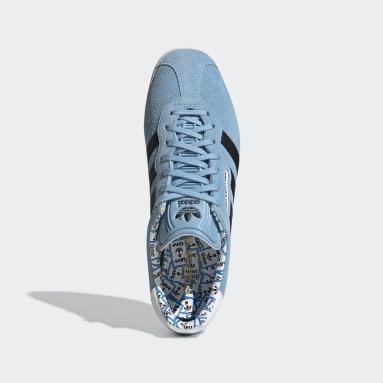 Tenis Gazelle Super Have A Good Time Azul Hombre Originals