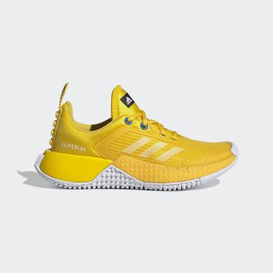 Kids 4-8 Years Running Yellow adidas x LEGO® Sport Shoes