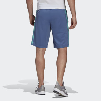 Men's Essentials Blue Essentials 3-Stripes Shorts