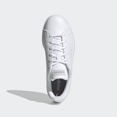 Dames Tennis Wit Advantage Base Schoenen