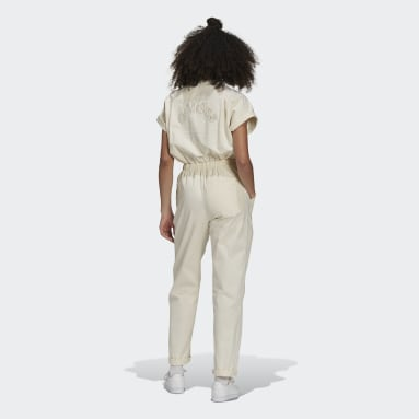 Women's Originals White No-Dye Jumpsuit
