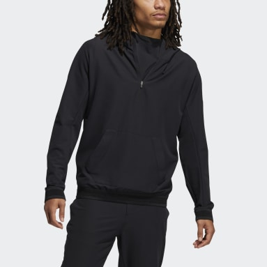 Men Golf Black Adicross Anorak