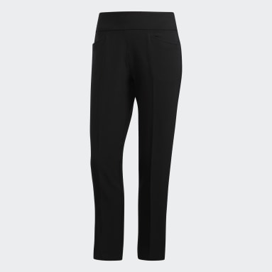 Women's Golf Black Ultimate365 Adistar Cropped Pants