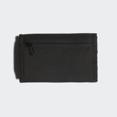 Gym & Training Black Linear Logo Wallet