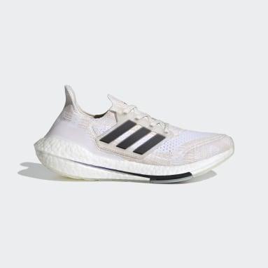 Kvinder Løb Hvid Ultraboost 21 Primeblue sko