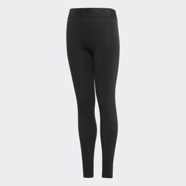 Legging Noir Filles Fitness Et Training