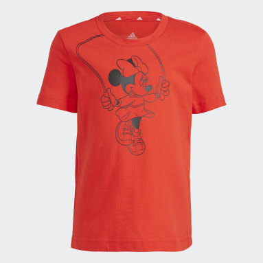 T-shirt adidas x Disney Rosso Ragazza Sportswear