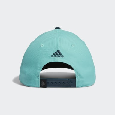 Casquette adidas Script Curved Snapback vert Hommes Golf