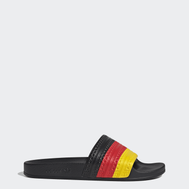 Men Originals Red Adilette Slides