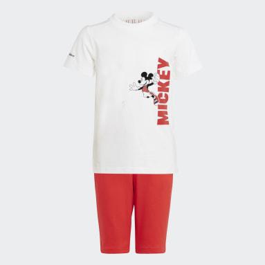 Children Training White Disney Mickey Mouse Summer Set