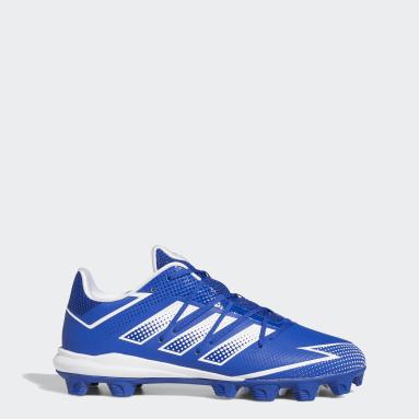 Men's Baseball Blue Afterburner 7 MD Cleats