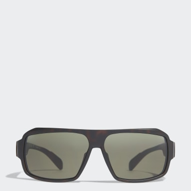 Running Beige Sport Sunglasses SP0026
