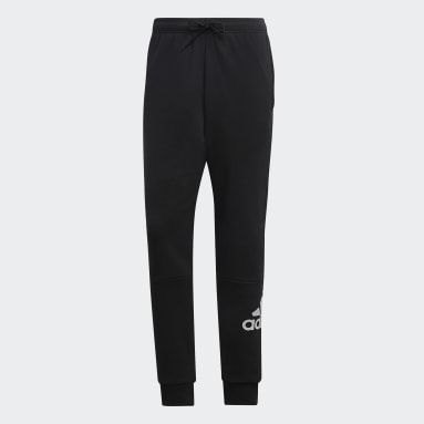 Pants Must Haves French Terry Badge of Sport Negro Hombre Diseño Deportivo