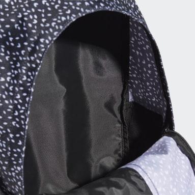 Frauen Sportswear Linear Graphic Rucksack Schwarz