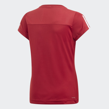 Meisjes Yoga Bordeaux Equipment T-shirt