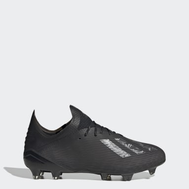 Men Football Black X 19.1 Firm Ground Boots