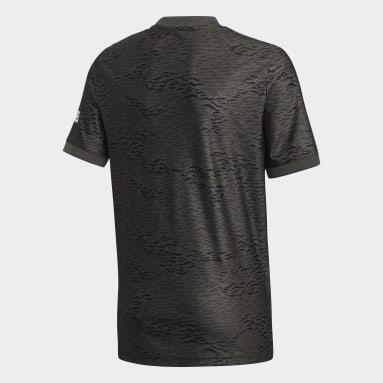 черный Гостевая игровая футболка Манчестер Юнайтед